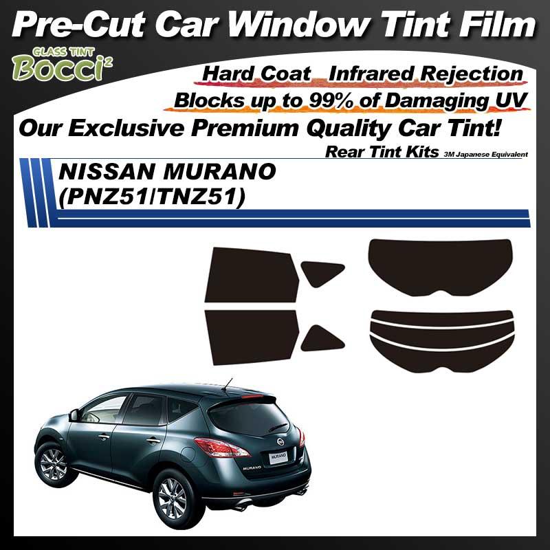 NISSAN Murano (PNZ51/TNZ51) Pre-Cut Car Tint Film UV IR 3M Japanese Equivalent