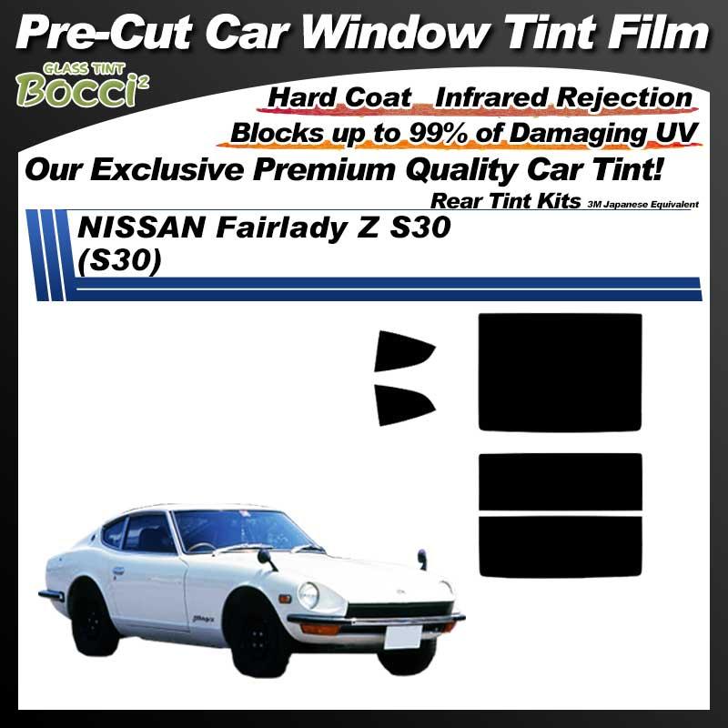 NISSAN Fairlady Z S30 (S30) Pre-Cut Car Tint Film UV IR 3M Japanese Equivalent