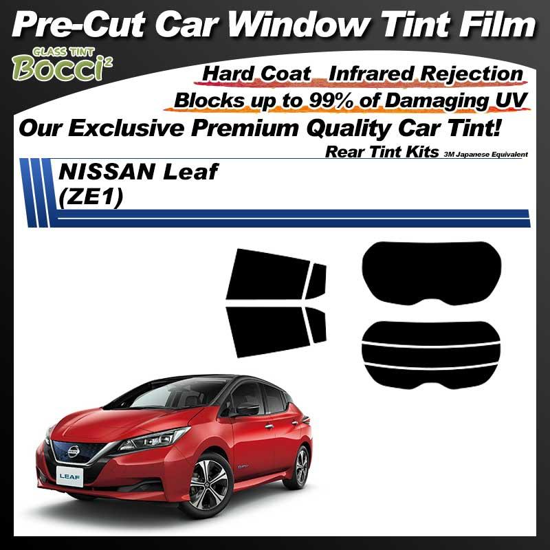 NISSAN Leaf (ZE1) Pre-Cut Car Tint Film UV IR 3M Japanese Equivalent