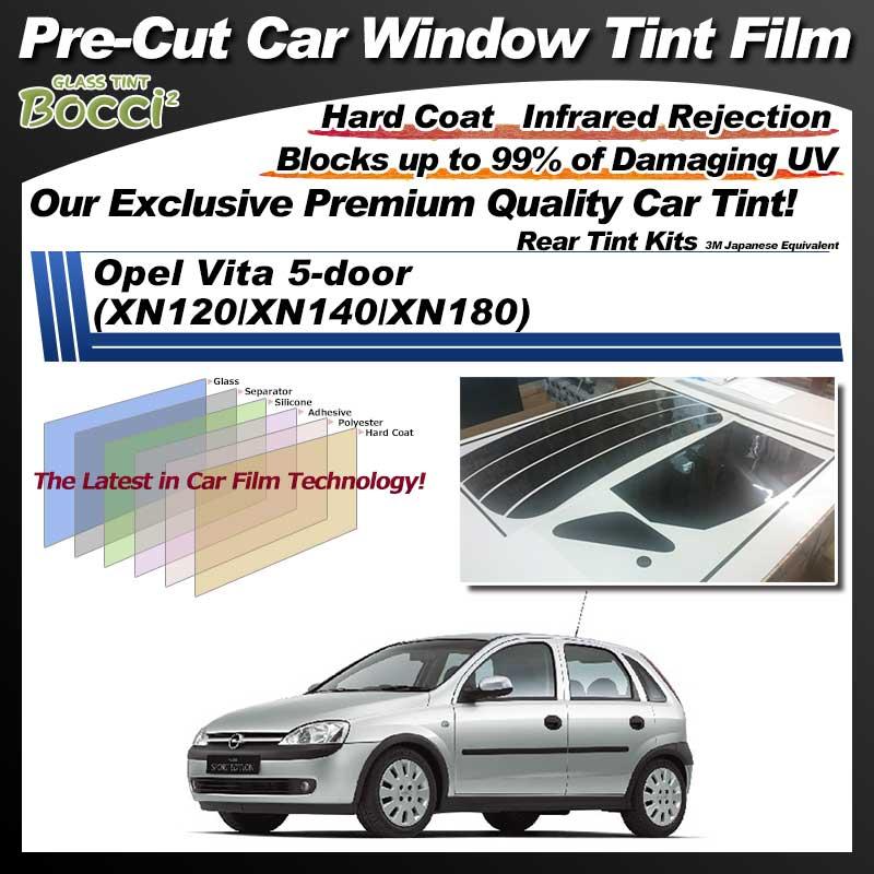 Opel Vita 5-door (XN120/XN140/XN180) Pre-Cut Car Tint Film UV IR 3M Japanese Equivalent