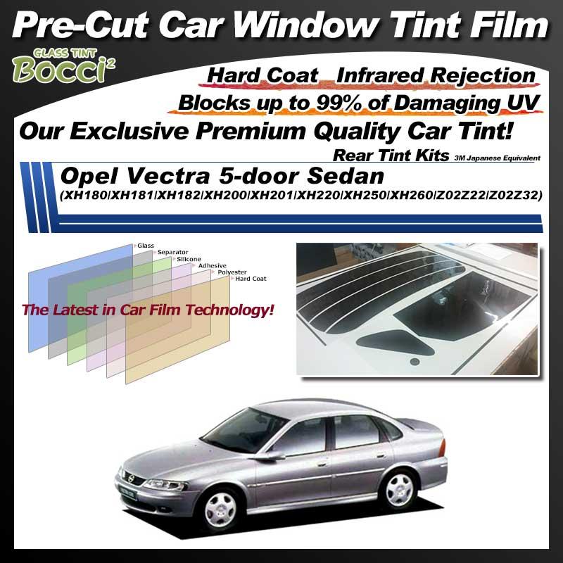 Opel Vectra 5-door Sedan (XH180/XH181/XH182/XH200/XH201/XH220/XH250/XH260/Z02Z22/Z02Z32) Pre-Cut Car Tint Film UV IR 3M Japanese Equivalent