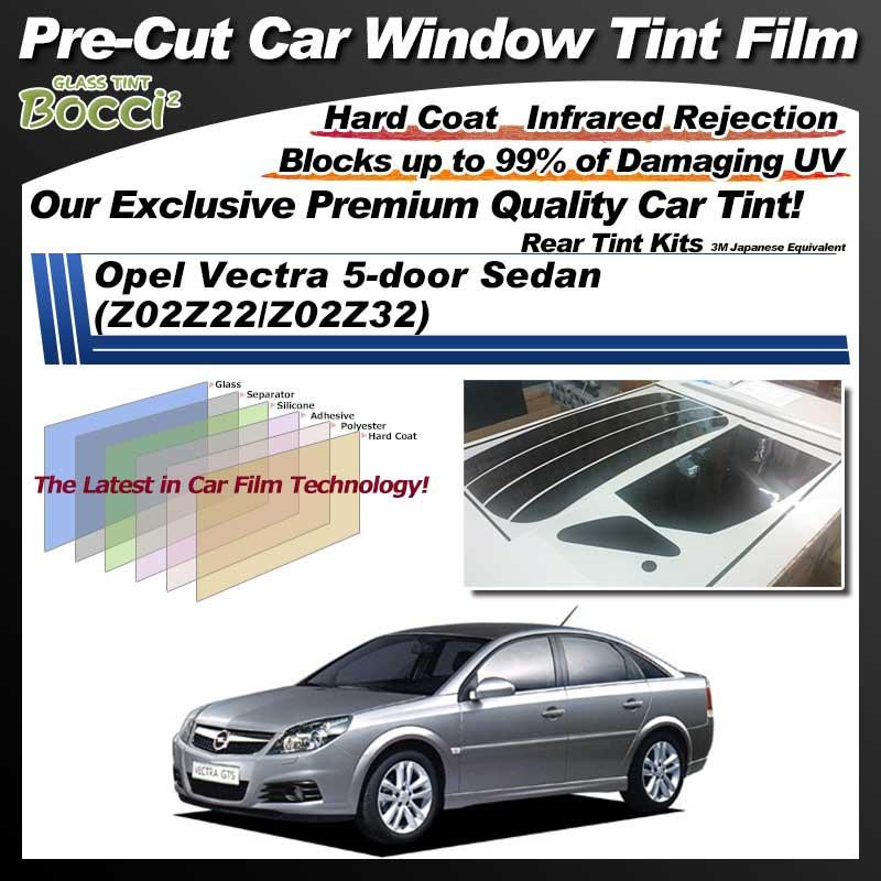 Opel Vectra 5-door Sedan (Z02Z22/Z02Z32) Pre-Cut Car Tint Film UV IR 3M Japanese Equivalent