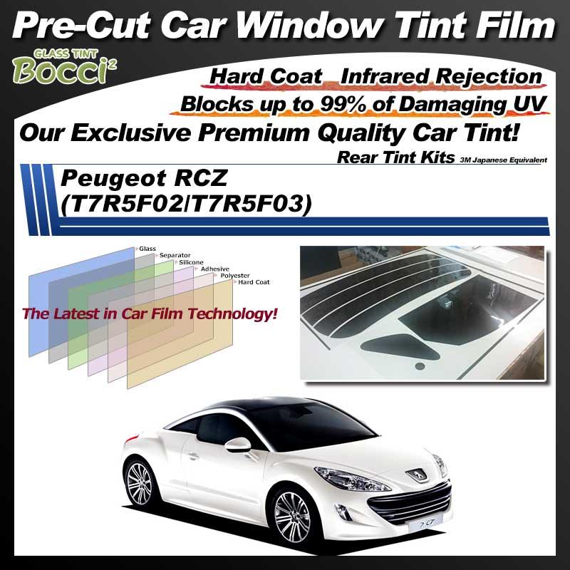 Peugeot RCZ (T7R5F02/T7R5F03) Pre-Cut Car Tint Film UV IR 3M Japanese Equivalent