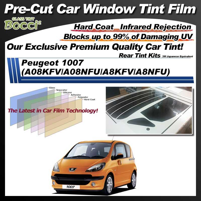 Peugeot 1007 (A08KFV/A08NFU/A8KFV/A8NFU) Pre-Cut Car Tint Film UV IR 3M Japanese Equivalent