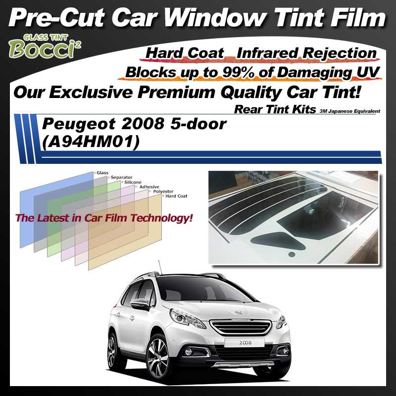 Peugeot 2008 5-door (A94HM01) Pre-Cut Car Tint Film UV IR 3M Japanese Equivalent