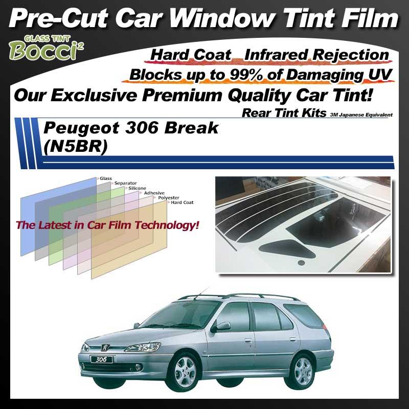 Peugeot 306 Break (N5BR) Pre-Cut Car Tint Film UV IR 3M Japanese Equivalent