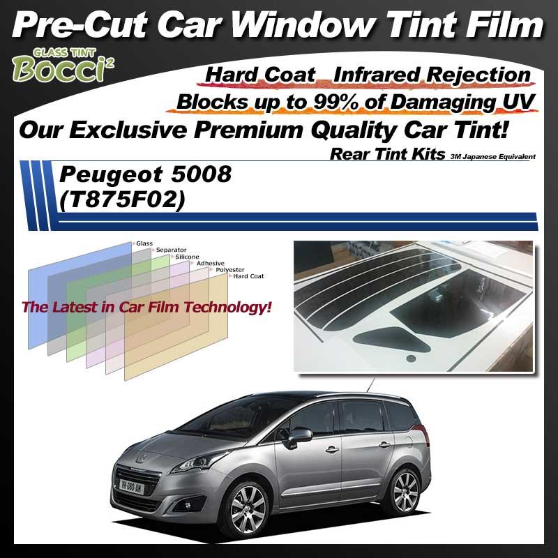 Peugeot 5008 (T875F02) Pre-Cut Car Tint Film UV IR 3M Japanese Equivalent