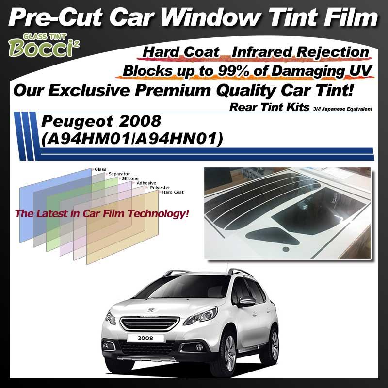 Peugeot 3008 (A94HM01/A94HN01) Pre-Cut Car Tint Film UV IR 3M Japanese Equivalent
