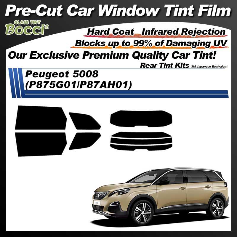 Peugeot 5008 (P875G01/P87AH01) Pre-Cut Car Tint Film UV IR 3M Japanese Equivalent