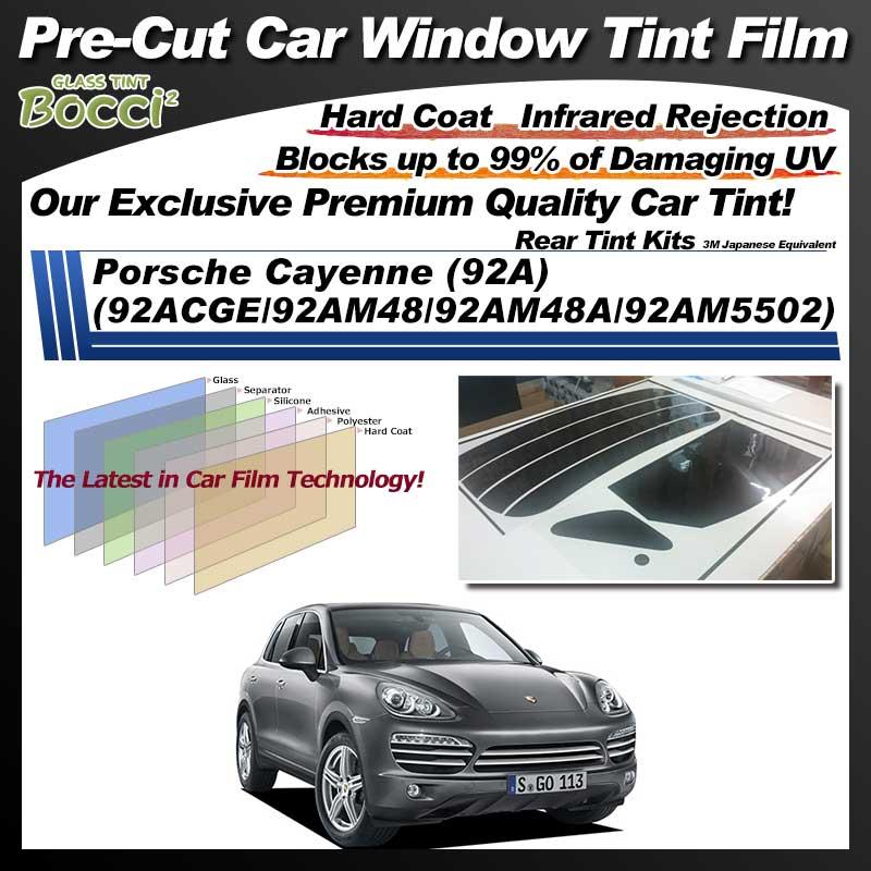 Porsche Cayenne (92A) (92ACGE/92AM48/92AM48A/92AM5502) Pre-Cut Car Tint Film UV IR 3M Japanese Equivalent