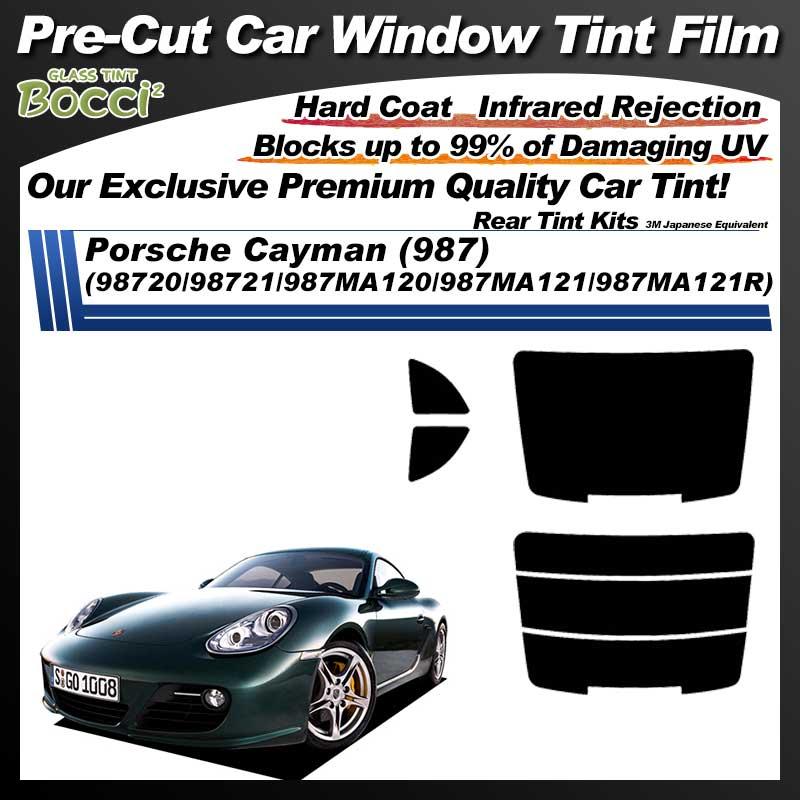 Porsche Cayman (987) (98720/98721/987MA120/987MA121/987MA121R) Pre-Cut Car Tint Film UV IR 3M Japanese Equivalent