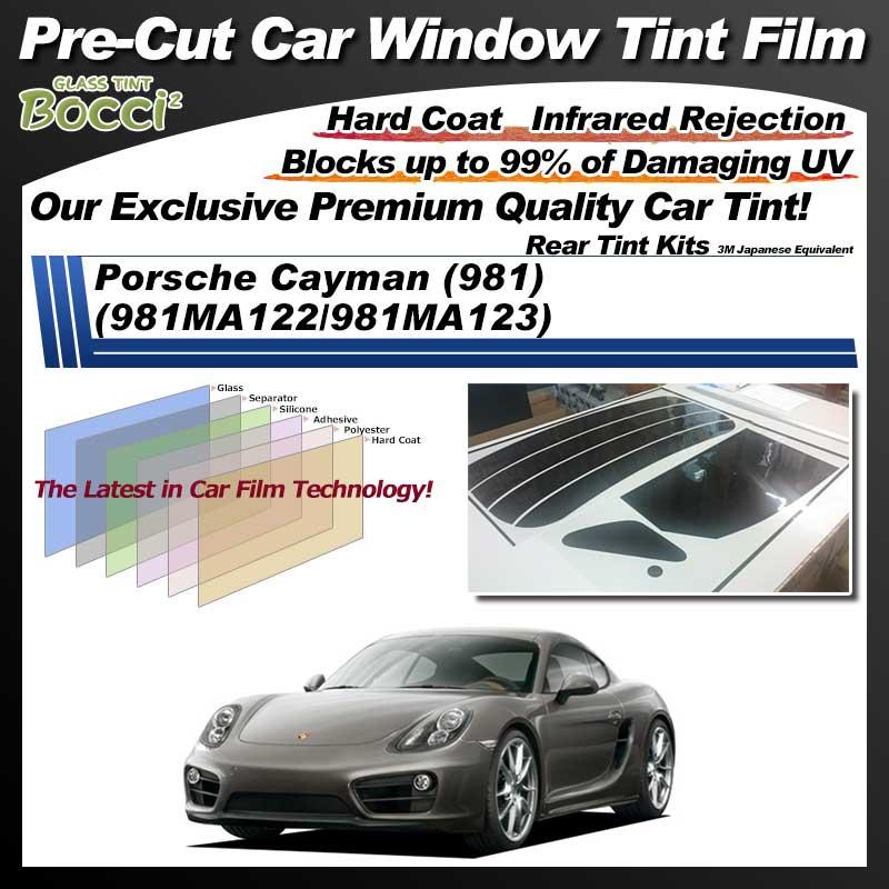Porsche Cayman (981) (981MA122/981MA123) Pre-Cut Car Tint Film UV IR 3M Japanese Equivalent