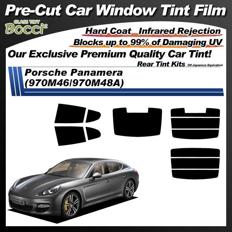 Porsche Panamera (970M46/970M48A) Pre-Cut Car Tint Film UV IR 3M Japanese Equivalent