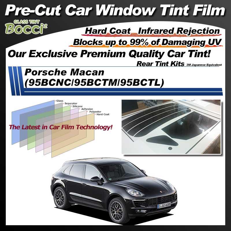 Porsche Macan (95BCNC/95BCTM/95BCTL) Pre-Cut Car Tint Film UV IR 3M Japanese Equivalent
