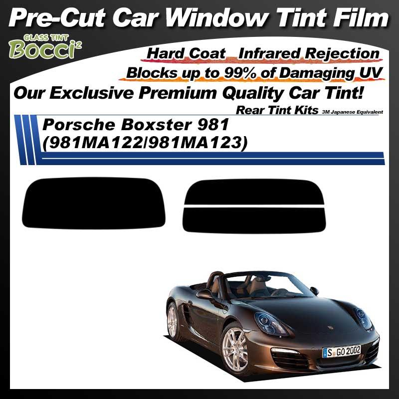 Porsche Boxster 981 (981MA122/981MA123) Pre-Cut Car Tint Film UV IR 3M Japanese Equivalent