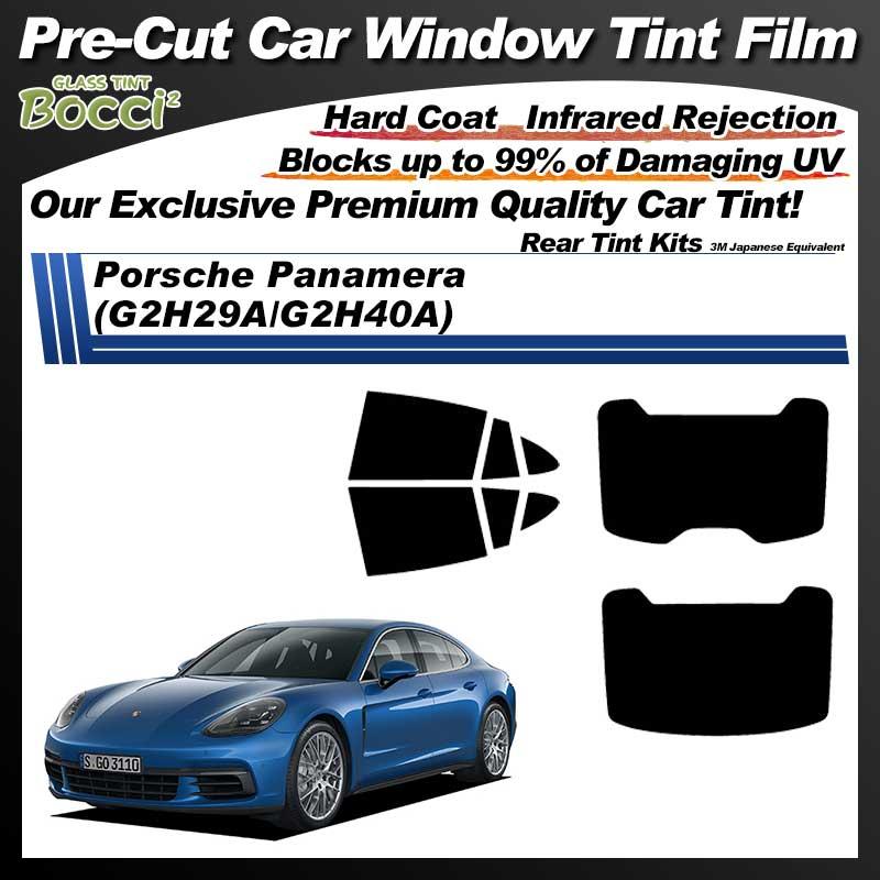 Porsche Panamera (G2H29A/G2H40A) Pre-Cut Car Tint Film UV IR 3M Japanese Equivalent