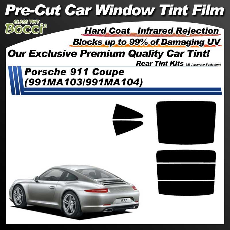 Porsche 911 Coupe (991MA103/991MA104) Pre-Cut Car Tint Film UV IR 3M Japanese Equivalent