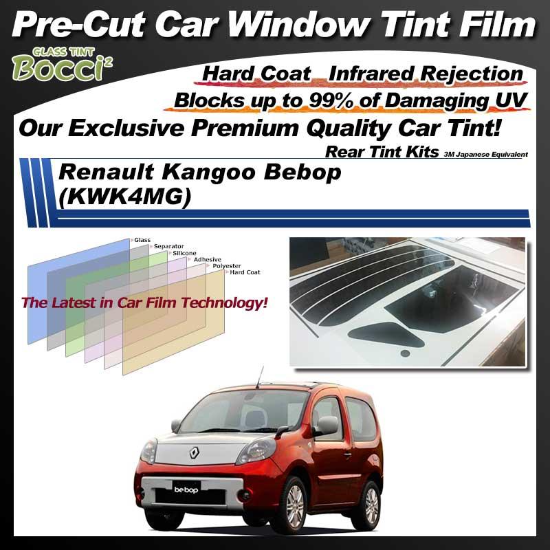 Renault Kangoo Bebop (KWK4MG) Pre-Cut Car Tint Film UV IR 3M Japanese Equivalent