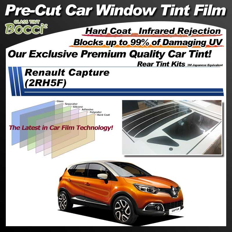 Renault Capture (2RH5F) Pre-Cut Car Tint Film UV IR 3M Japanese Equivalent