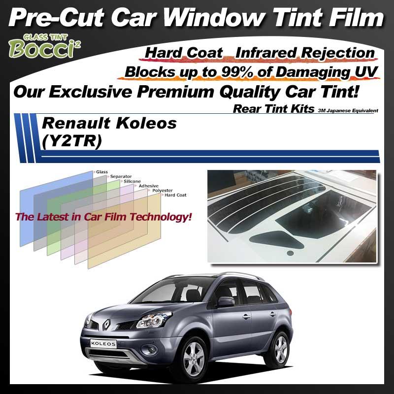 Renault Koleos (Y2TR) Pre-Cut Car Tint Film UV IR 3M Japanese Equivalent