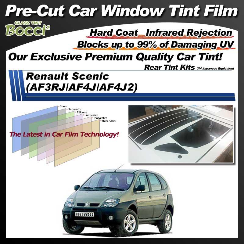 Renault Scenic (AF3RJ/AF4J/AF4J2) Pre-Cut Car Tint Film UV IR 3M Japanese Equivalent