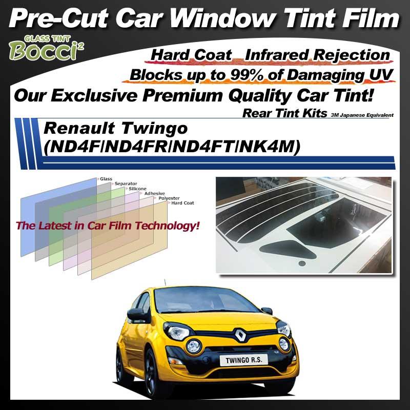 Renault Twingo (ND4F/ND4FR/ND4FT/NK4M) Pre-Cut Car Tint Film UV IR 3M Japanese Equivalent