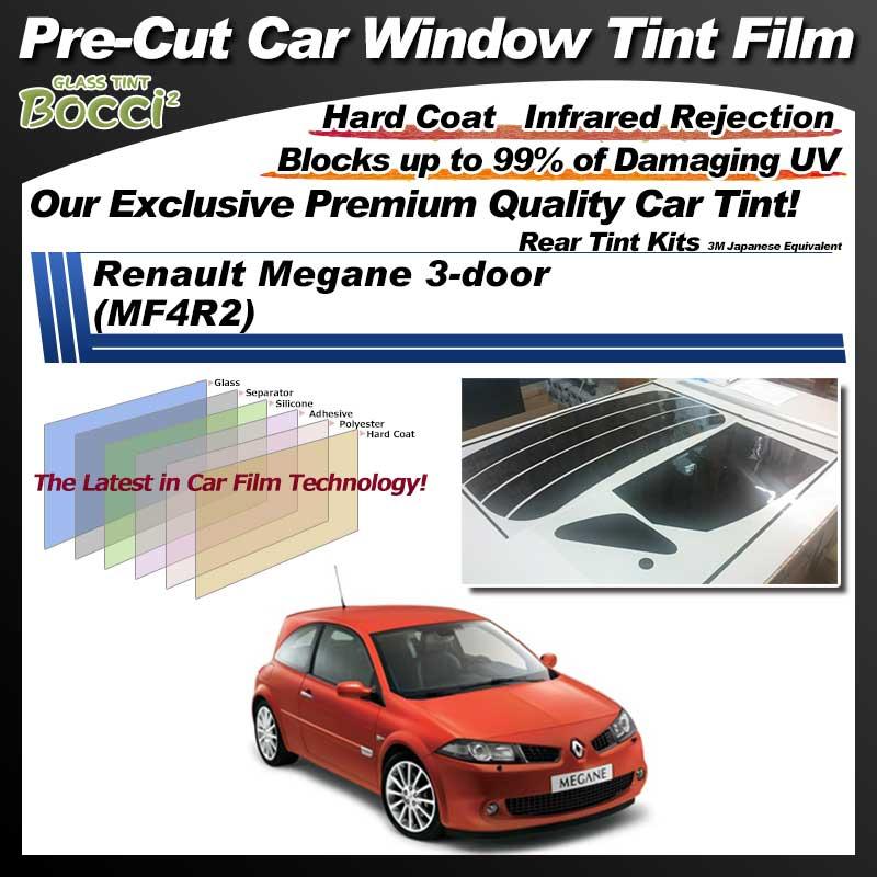 Renault Megane 3-door (MF4R2) Pre-Cut Car Tint Film UV IR 3M Japanese Equivalent