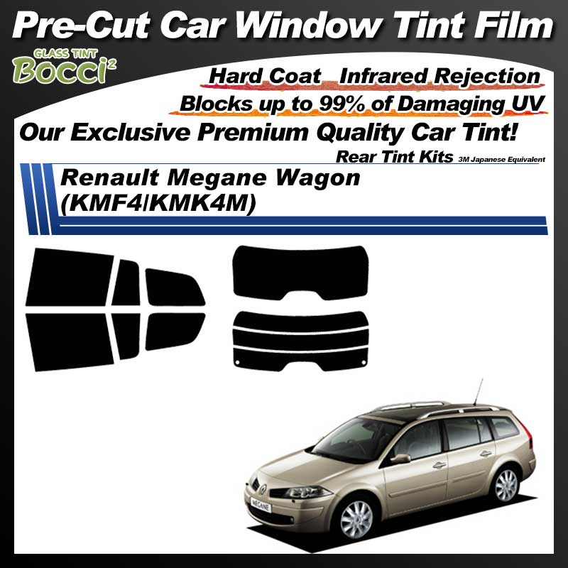 Renault Megane Wagon (KMF4/KMK4M) Pre-Cut Car Tint Film UV IR 3M Japanese Equivalent