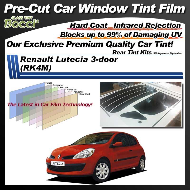 Renault Lutecia 3-door (RK4M) Pre-Cut Car Tint Film UV IR 3M Japanese Equivalent
