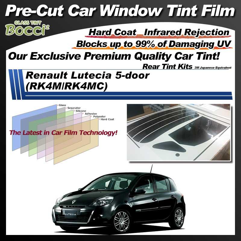 Renault Lutecia 5-door (RK4M/RK4MC) Pre-Cut Car Tint Film UV IR 3M Japanese Equivalent