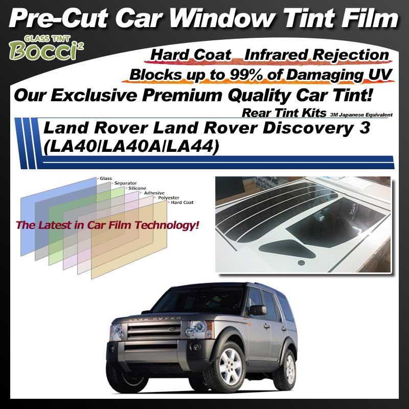 Land Rover Land Rover Discovery 3 (LA40/LA40A/LA44) Pre-Cut Car Tint Film UV IR 3M Japanese Equivalent