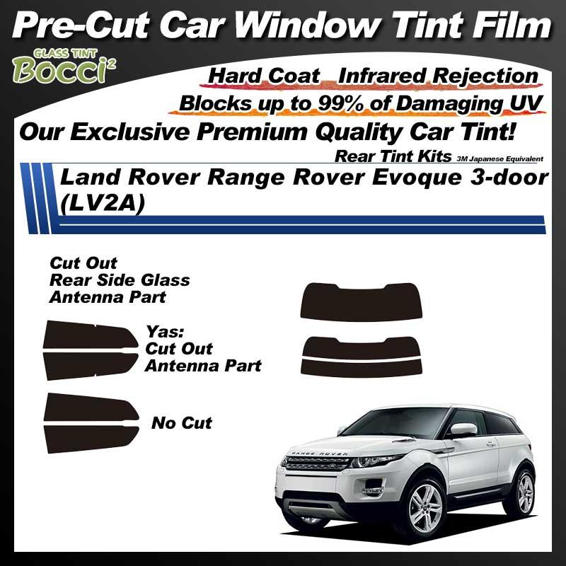 Land Rover Range Rover Evoque 3-door (LV2A) Pre-Cut Car Tint Film UV IR 3M Japanese Equivalent