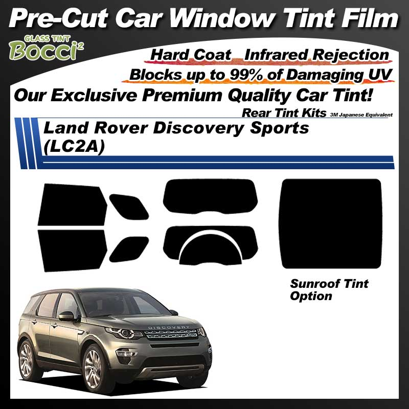 Land Rover Discovery Sports (LC2A) With Sunroof Pre-Cut Car Tint Film UV IR 3M Japanese Equivalent