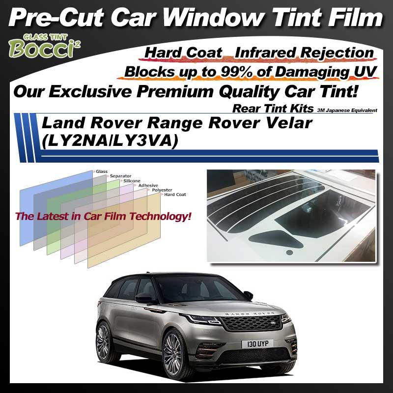 Land Rover Range Rover Velar (LY2NA/LY3VA) Pre-Cut Car Tint Film UV IR 3M Japanese Equivalent
