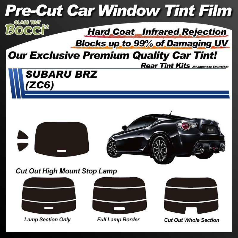 SUBARU BRZ (ZC6) Pre-Cut Car Tint Film UV IR 3M Japanese Equivalent