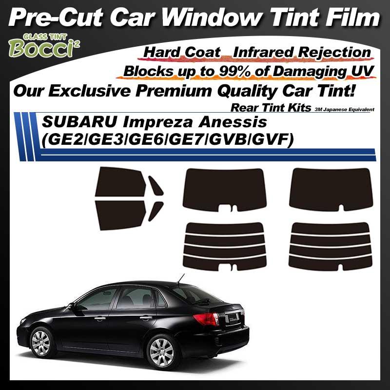 SUBARU Impreza Anessis (GE2/GE3/GE6/GE7/GVB/GVF) Pre-Cut Car Tint Film UV IR 3M Japanese Equivalent