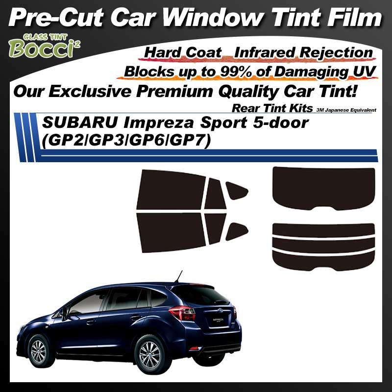 SUBARU Impreza Sport 5-door (GP2/GP3/GP6/GP7) Pre-Cut Car Tint Film UV IR 3M Japanese Equivalent
