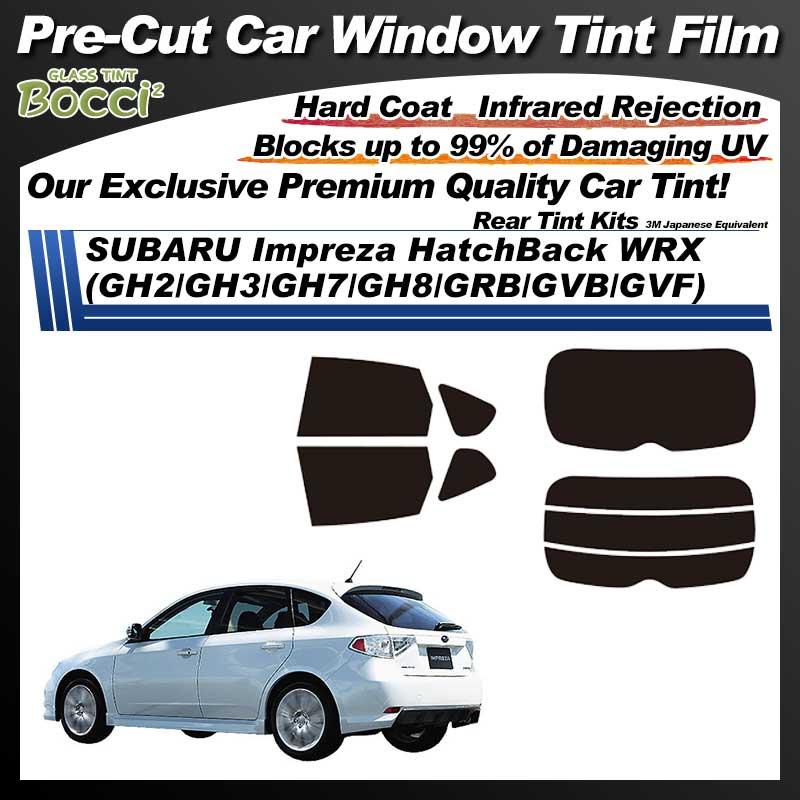 SUBARU Impreza HatchBack WRX (GH2/GH3/GH7/GH8/GRB/GVB/GVF) Pre-Cut Car Tint Film UV IR 3M Japanese Equivalent