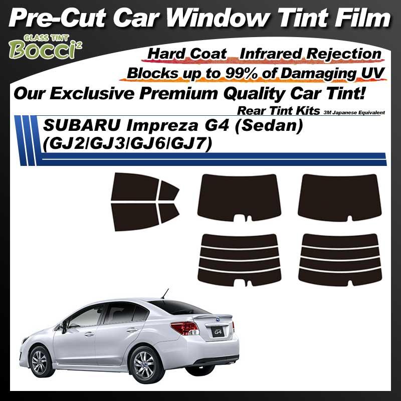 SUBARU Impreza G4 (Sedan) (GJ2/GJ3/GJ6/GJ7) Pre-Cut Car Tint Film UV IR 3M Japanese Equivalent