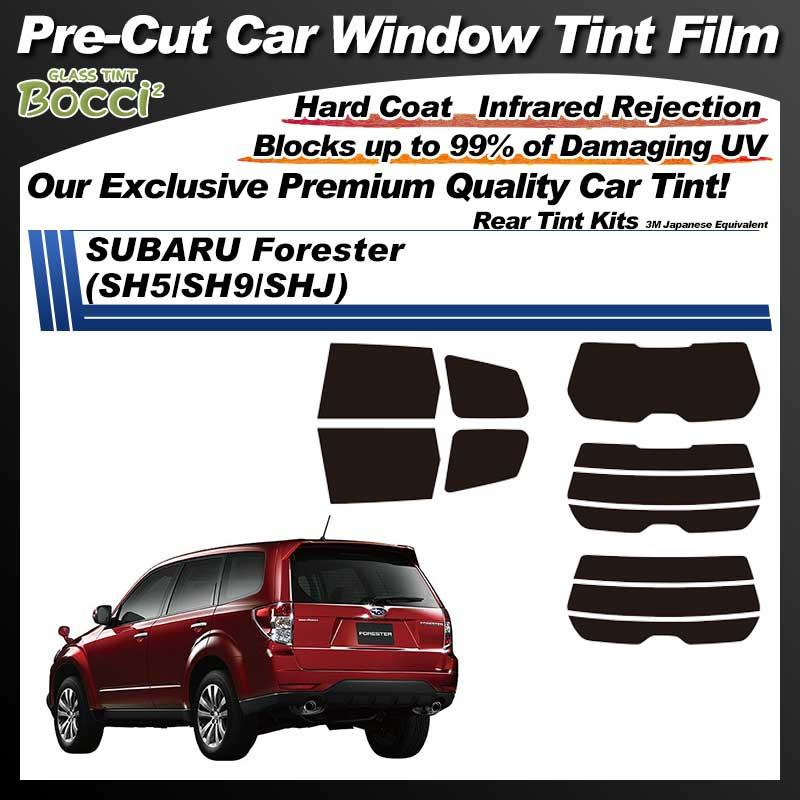 SUBARU Forester (SH5/SH9/SHJ) Pre-Cut Car Tint Film UV IR 3M Japanese Equivalent