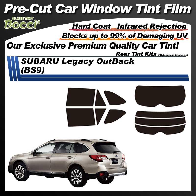 SUBARU Legacy OutBack (BS9) Pre-Cut Car Tint Film UV IR 3M Japanese Equivalent