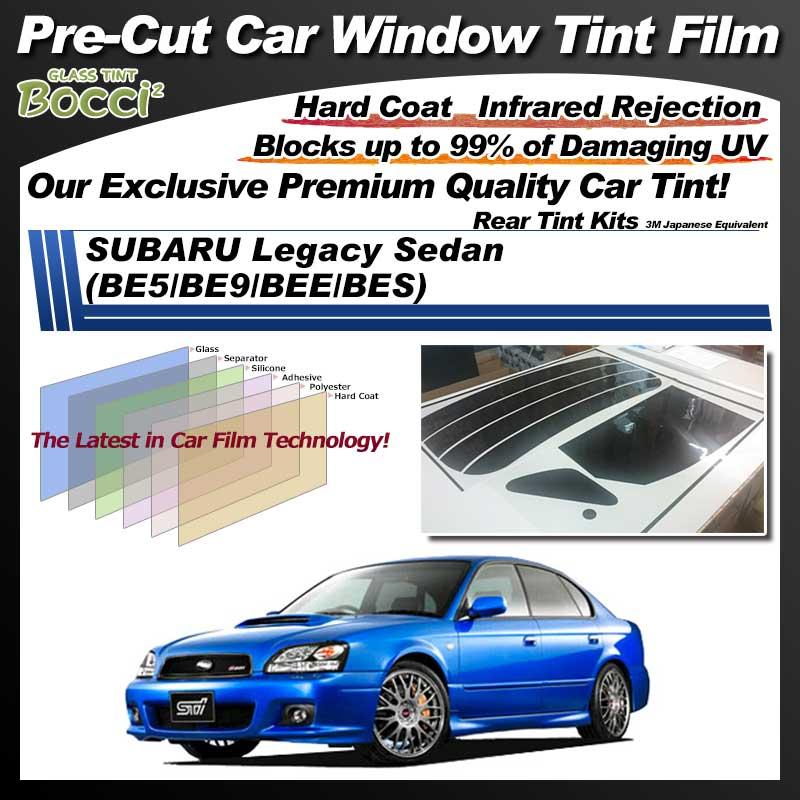 SUBARU Legacy Sedan (BE5/BE9/BEE/BES) Pre-Cut Car Tint Film UV IR 3M Japanese Equivalent