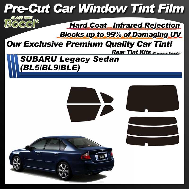 SUBARU Legacy Sedan (BL5/BL9/BLE) Pre-Cut Car Tint Film UV IR 3M Japanese Equivalent
