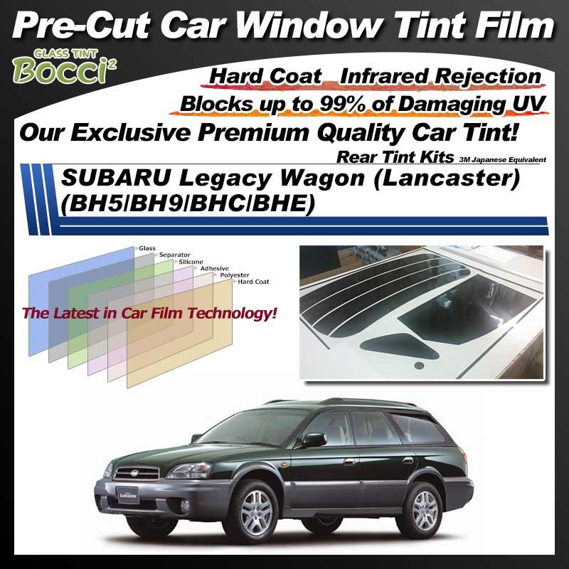 SUBARU Legacy Wagon (Lancaster) (BH5/BH9/BHC/BHE) Pre-Cut Car Tint Film UV IR 3M Japanese Equivalent