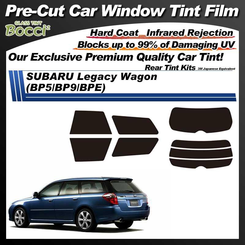SUBARU Legacy Wagon (BP5/BP9/BPE) Pre-Cut Car Tint Film UV IR 3M Japanese Equivalent