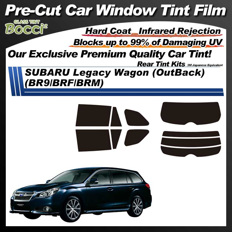 SUBARU Legacy Wagon (OutBack) (BR9/BRF/BRM) Pre-Cut Car Tint Film UV IR 3M Japanese Equivalent
