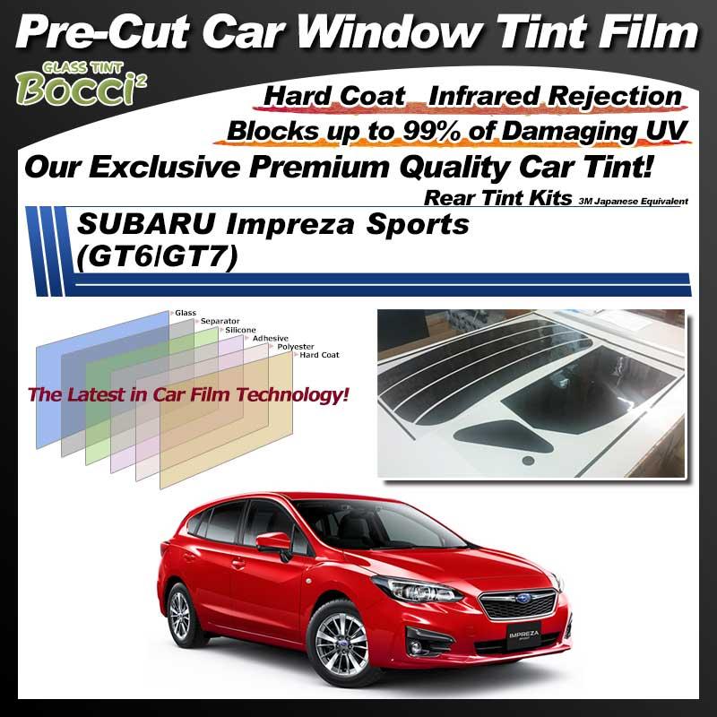 SUBARU Impreza Sports (GT6/GT7) Pre-Cut Car Tint Film UV IR 3M Japanese Equivalent
