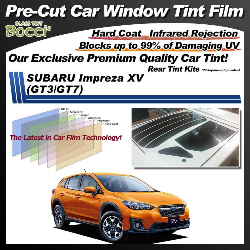 SUBARU Impreza XV (GT3/GT7) Pre-Cut Car Tint Film UV IR 3M Japanese Equivalent