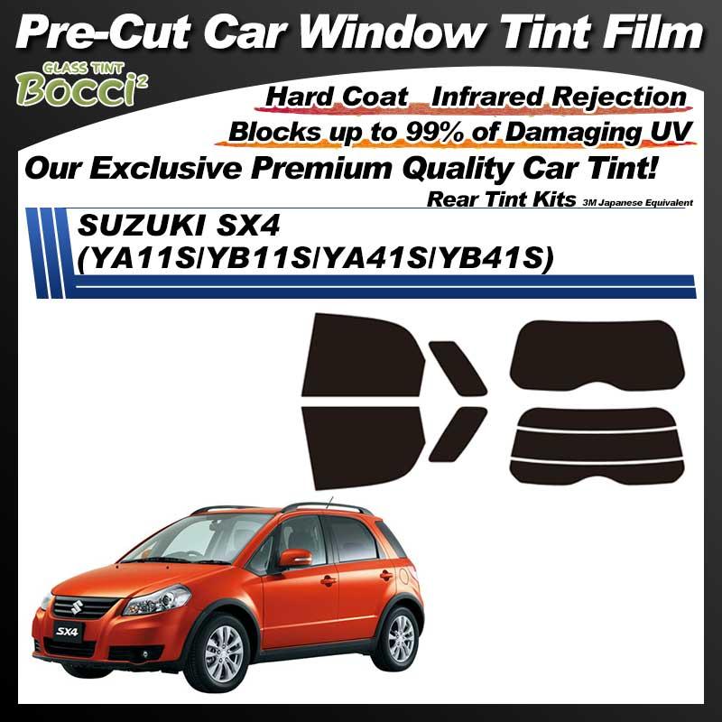 SUZUKI SX4 (YA11S/YB11S/YA41S/YB41S) Pre-Cut Car Tint Film UV IR 3M Japanese Equivalent