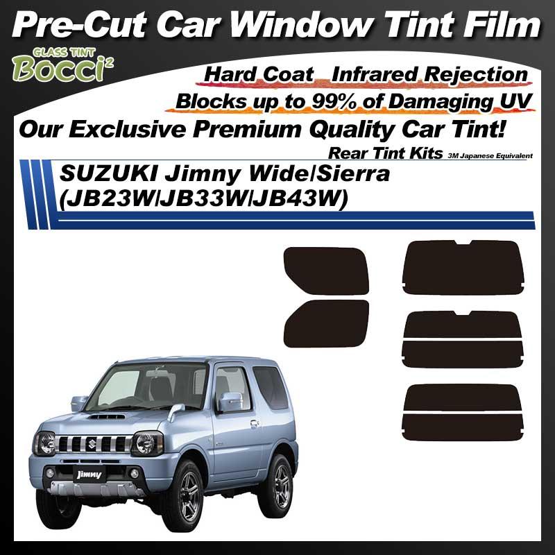 SUZUKI Jimny Wide/Sierra (JB23W/JB33W/JB43W) Pre-Cut Car Tint Film UV IR 3M Japanese Equivalent